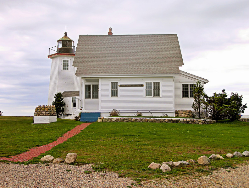 The first Keeper of the Wings Neck Light was Edward Lawrence of Sandwich, who gained the position as a political appointment.  Lawrence served until he was removed in 1854, but he returned as Keeper when he was reappointed in 1865.  Lawrence then served at Wings Neck until he passed away in September 1887.