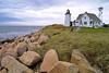 Agitation for a lighthouse continued until 1848 when Congress voted $3,500 towards the project.  9½ acres of land were purchased on the Wings Neck peninsula in Pocasset in March 1849 for $250.  A building contract for the lighthouse was signed in May.