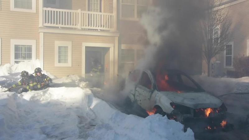Massapequa Car Fire- Paul Mazz