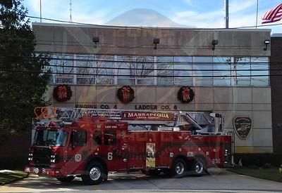 Massapequa F.D. New Ladder 636 in Service