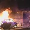 Massapequa Two Vehicles and a House on Fire- Paul Mazza