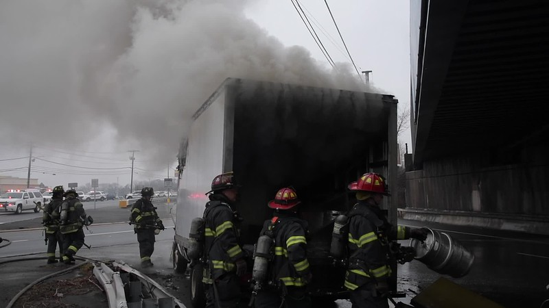 Massapequa Truck Fire Paul Mazza