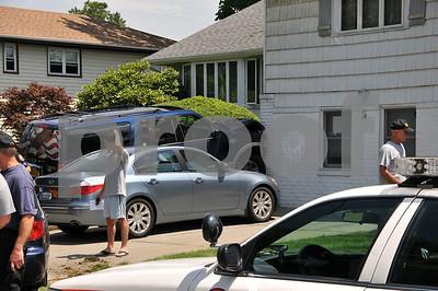 Car vs House Polo Road 7-24-10