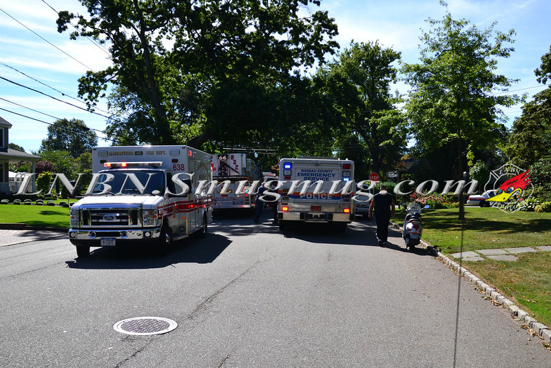 Massapequa F.D Mva with Pin Nassau St & Bay Drive 9-9-2013