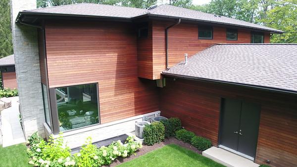 Massaranduba Wood Siding Installation - Highland Park, IL