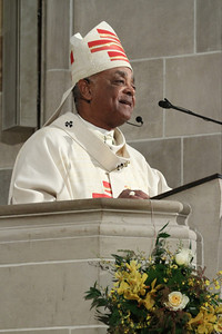 Archbishop Wilton D. Gregory delivers the homily on the momentous occasion of the Cathedral of Christ the King's 75th Anniversary Mass, Jan. 19.