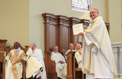Father Paul Flood's 25th jubilee