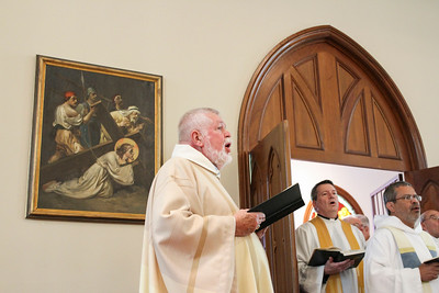 Msgr. Henry Gracz's 50th Jubilee Mass