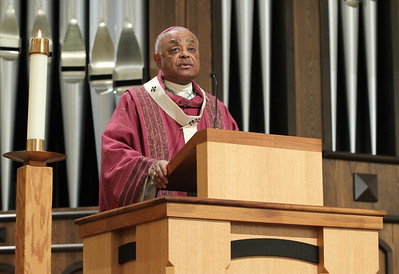 Archbishop Wilton D. Gregory serves as the homilist and main celebrant at the Dec. 1 World AIDS Day Mass.  (Page 20, December 6, 2012 issue)