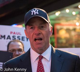 Boston Man Dons Yankees Hat