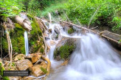 Waterfall along Hanging Lake Trail - Near Glenwood Springs, Colorado 2013.