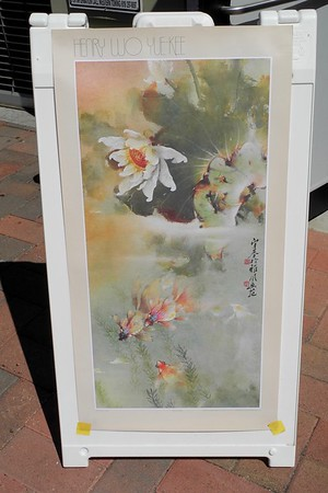 Master Artist Henry Wo Yue-Kee's Chinese Painting Demonstration, 9/24/16
