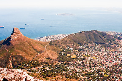 Table Mountain Cape Town South Africa 9: Journey into Africa