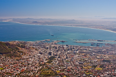 Table Mountain Cape Town South Africa 10: Journey into Africa