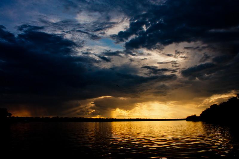 Sunset on the Zambezi River 12: Journey into Africa
