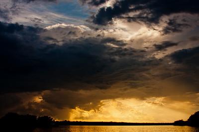 Sunset on the Zambezi River 9: Journey into Africa
