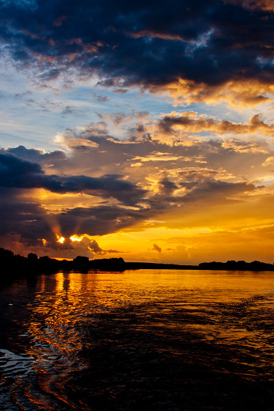 Sunset on the Zambezi River 13: Journey into Africa