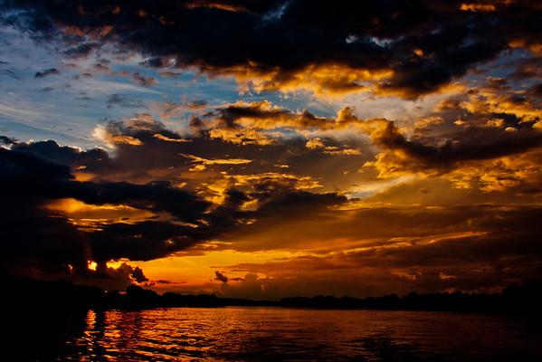 Sunset on the Zambezi River 16: Journey into Africa