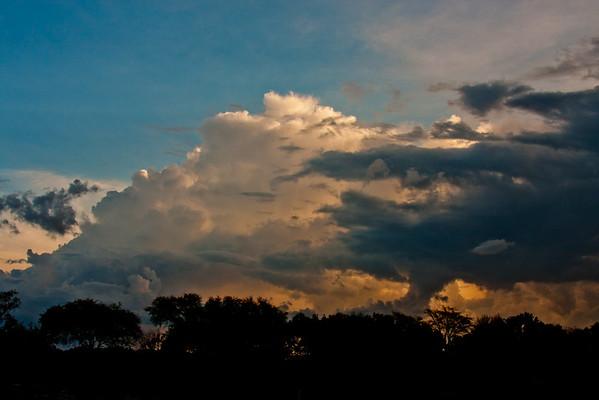 Sunset on the Zambezi River 7: Journey into Africa