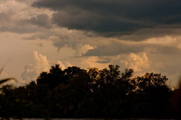 Sunset on the Zambezi River 4: Journey into Africa