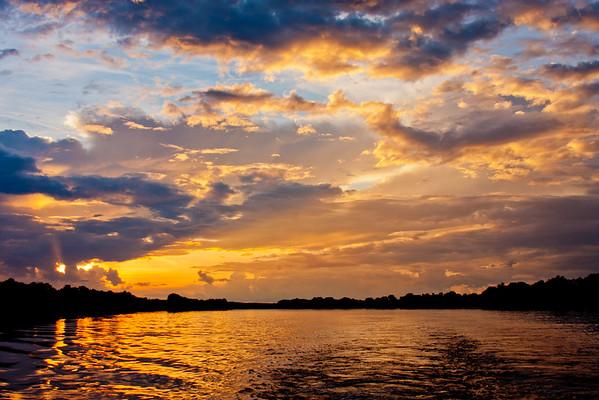 Sunset on the Zambezi River 17: Journey into Africa