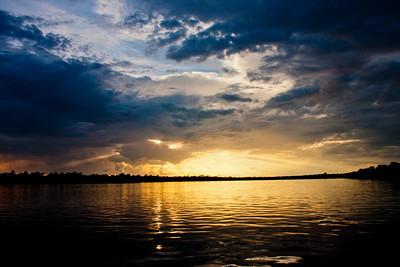 Sunset on the Zambezi River 10: Journey into Africa