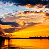 Sunset on the Zambezi River 11: Journey into Africa
