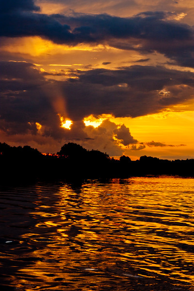 Sunset on the Zambezi River 18: Journey into Africa