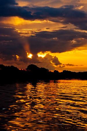 Sunset on the Zambezi River 18: Journey into Africa