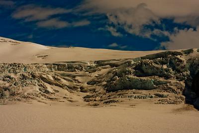 On the McKinley Glacier in Denali National Park 1: Journey into Alaska