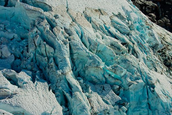On the McKinley Glacier in Denali National Park 9: Journey into Alaska