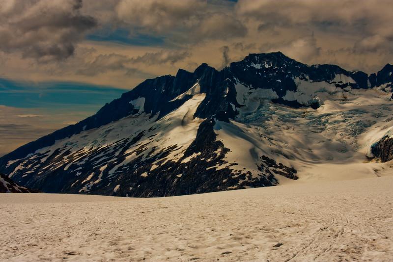 On the McKinley Glacier in Denali National Park 2: Journey into Alaska