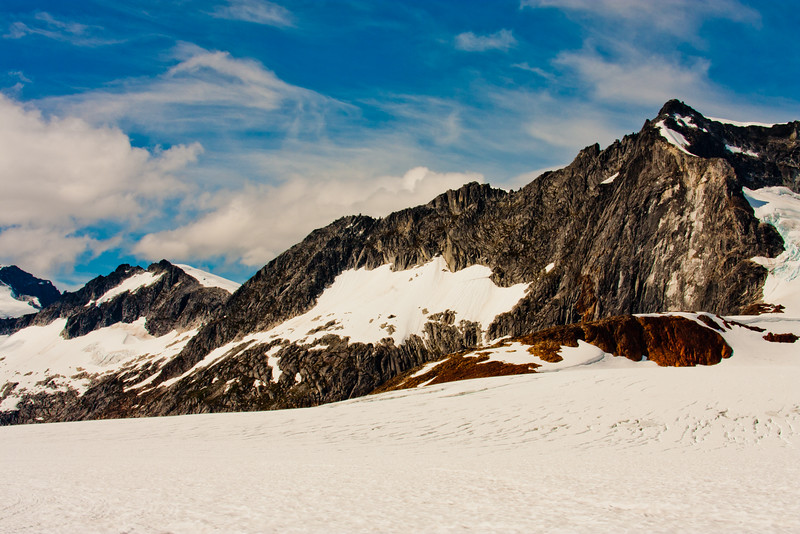 On the McKinley Glacier in Denali National Park 8: Journey into Alaska