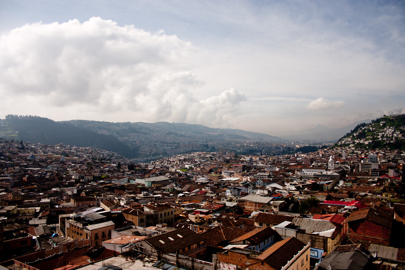 Quito from on High : Journey into Quito Ecuador