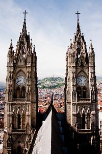 Basílica del Voto Nacional  6: Journey into Quito Ecuador