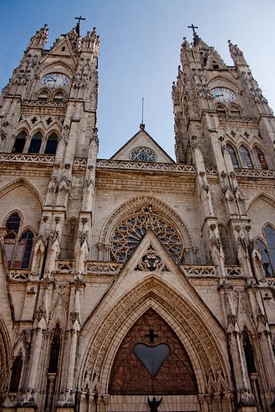 Basílica del Voto Nacional  1: Journey into Quito Ecuador