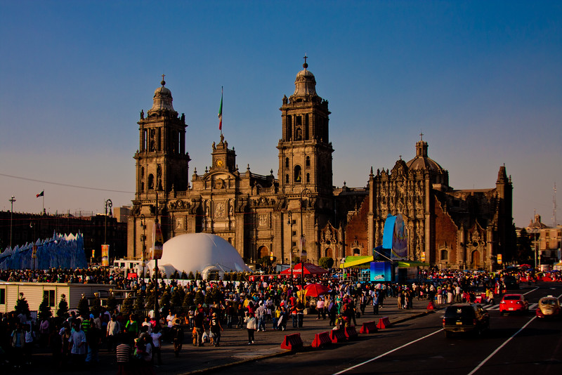 Mexico City Metropolitan Cathedral 2: Journey into Mexico City