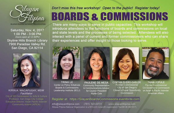 Boards and Commissions Workshop