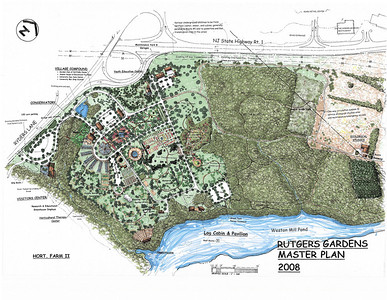 Rutgers Gardens Exhibits and Master Plan