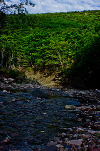 River Through the Mountain in Cape Breton Nova Scotia