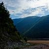 Traveling up the Mountain in Cape Breton Nova Scotia