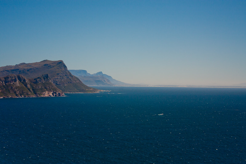 Mountains Meeting the Ocean in South Africa