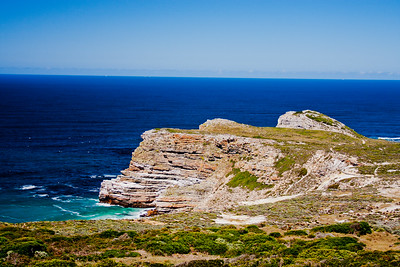 Rock Cliffs at Cape Point South Africa