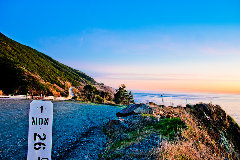 Highway One in Northern California