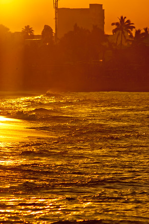 Golden Coast in Mexico