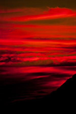 Red Sky in Mexico
