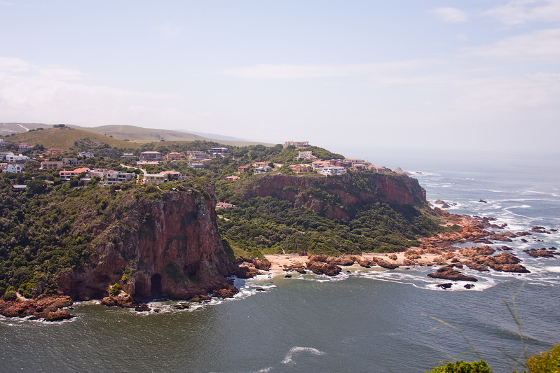 Cliffs and Water in South Africa