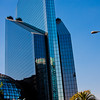 Blue Sky Reflection in Mexico City