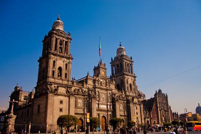 Morning at Mexico City Metropolitan Cathedral