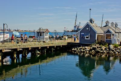 Ships at Dock in Halifax Nova Scotia